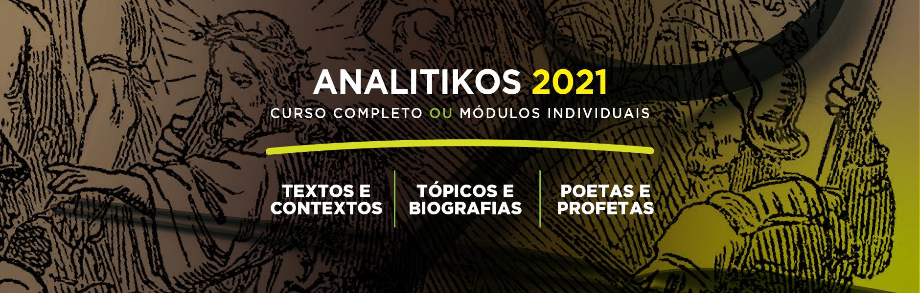 ANALITIKOS 2021 – Curso Completo ou Módulos Individuais
