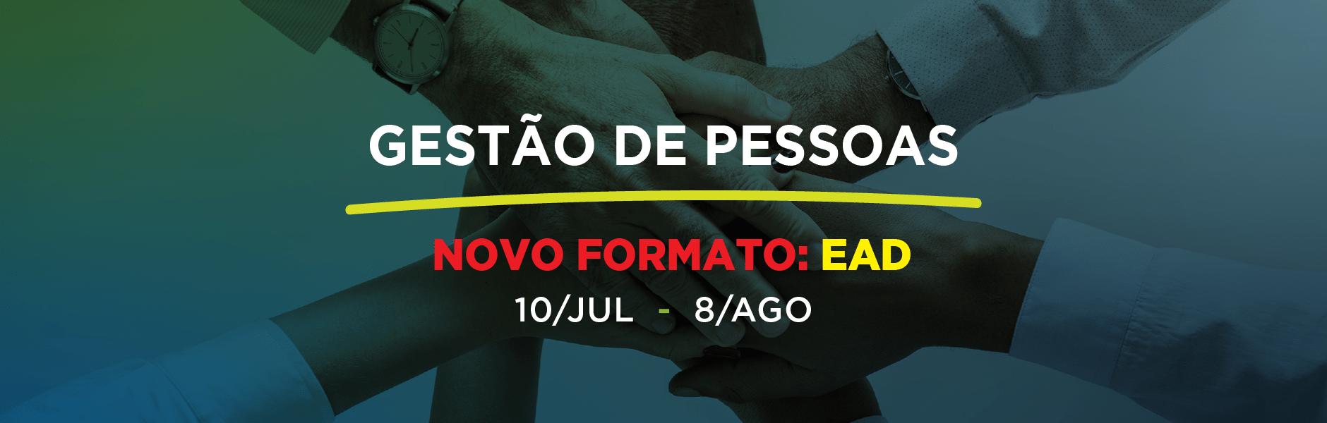 GESTÃO DE PESSOAS - Julho 2021