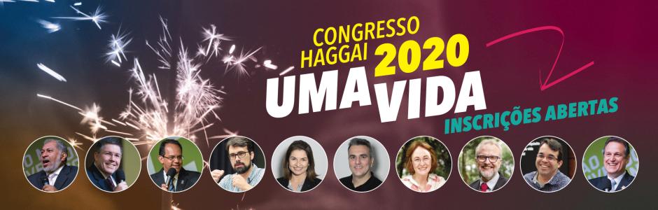 Participe do Congresso Haggai
