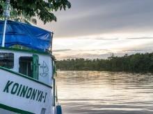Barco da MEAP em Afuá
