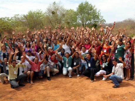 Participantes da Jornada de Estudos no Piauí em 2010