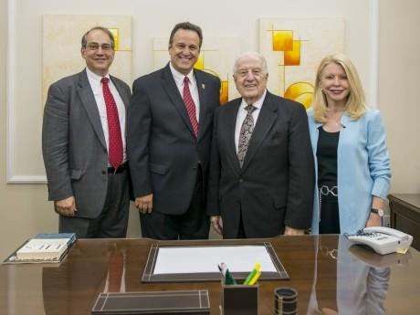 John Bachman, Ebenézer Bittencourt, Dr. Haggai e Dra. Bev Upton