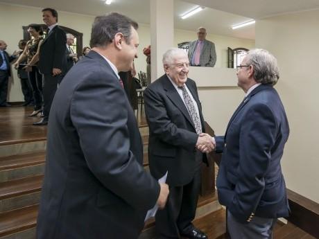 Encontro com os membros do Conselho do Haggai Brasil