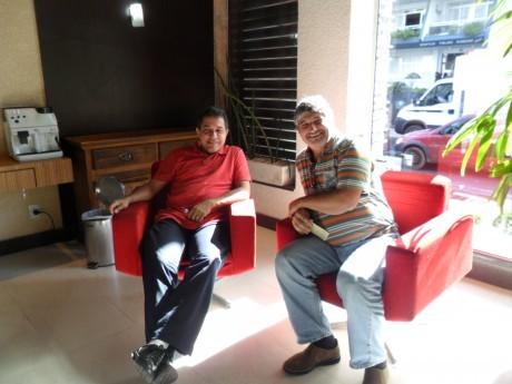 Jairo Ribeiro e Roberto Chenk