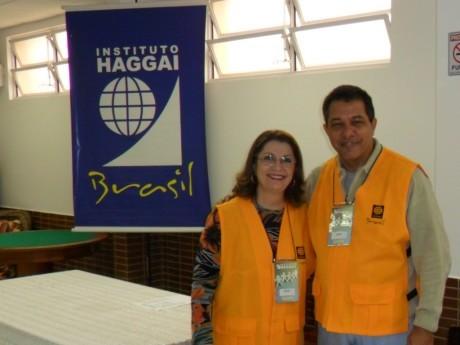 Maria Anice e Jairo coordenam o curso em Florianópolis