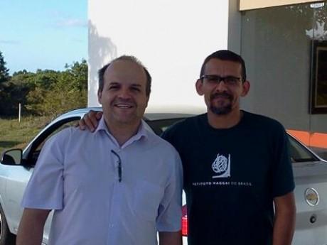 Lívio e Roberval chegam em João Pessoa para mais um Seminário Nacional de Liderança Avançada