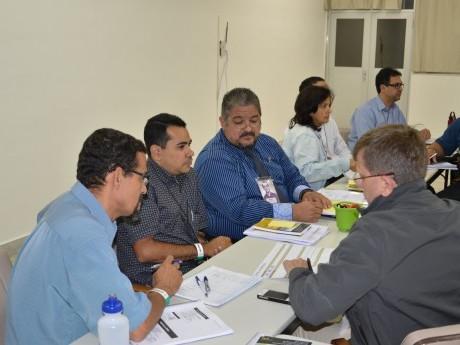 Executivos em curso durante a Semana Haggai 2012