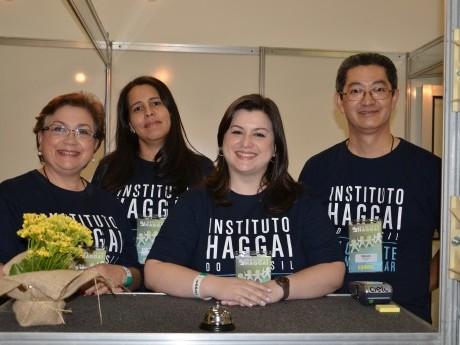 Parte da Equipe Haggai no Atendimento ao Participante