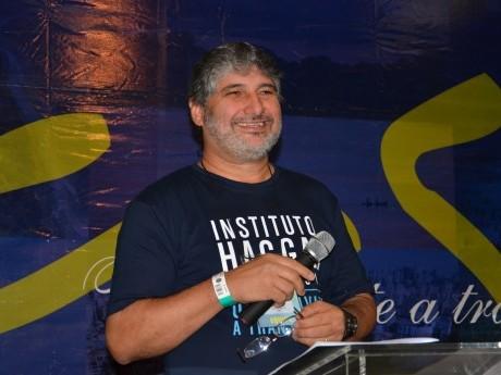 Diretor do Programa Roberto Chenk dá as boas vindas