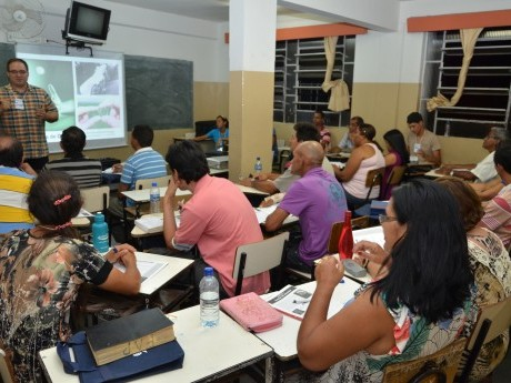Aula na Jornada de Estudos no Norte de Minas em 2012