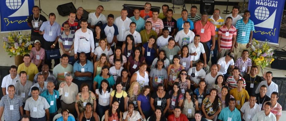 Foto oficial dos participantes da Jornada de Estudos Haggai no Norte de Minas