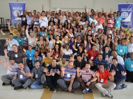 Participantes da Jornada de Estudos Haggai no Norte de Minas