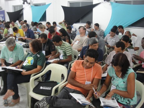 Participantes da Jornada de Estudos em Rondônia em 2012