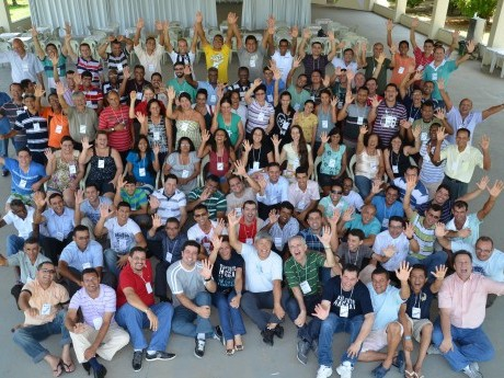 Participantes da Jornada de Estudos Haggai em Rondônia