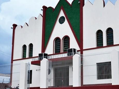 Equipe visita a sede da Igreja Evangélica Assembléia de Deus em Ji-Paraná