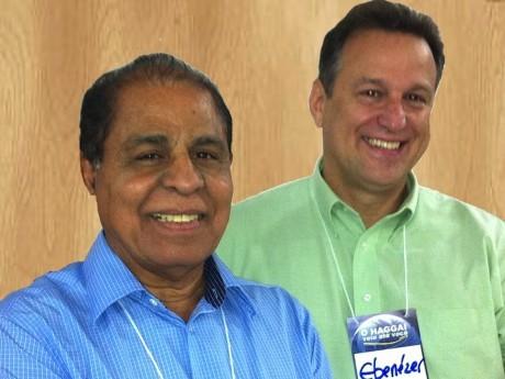 Pr. Sadraque Muniz (pastor presidente da IEAD Ji-Paraná) e EB.