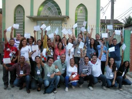 Participantes de um Seminário Local no Rio de Janeiro