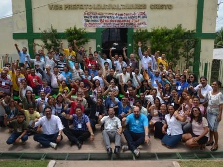 Participantes da Jornada de Estudos em Moju