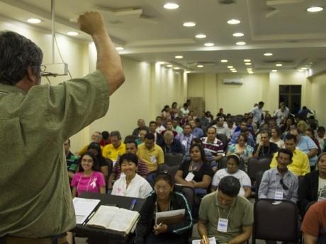 Aula na Jornada de Estudos em Macapá