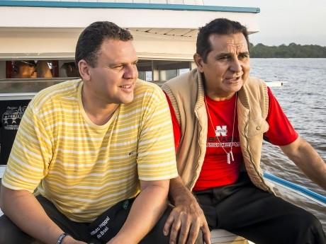 Docente David Milhomem e Pr. Obed Ferreira.