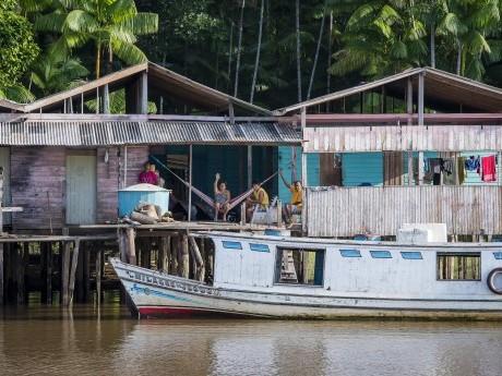 Durante a viagem pode-se avistar diversos vilarejos de ribeirinhos.