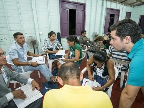 Grupo na Jornada de Estudos no Pará em 2013