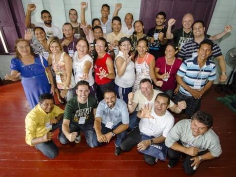 Participantes da Jornada de Estudos em Cristo Rei