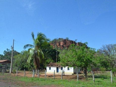 Panorama durante a viagem