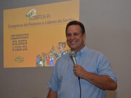 Ebenézer Bittencourt no Congresso de Pastores e Líderes do Sertão