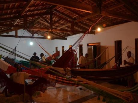 Participantes do CONPLIS dormiram em redes