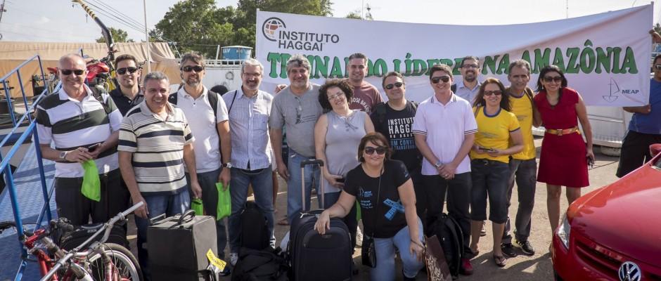 Recepção da equipe da Meap em Macapá