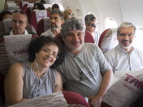 Nossa equipe em viagem para Afuá