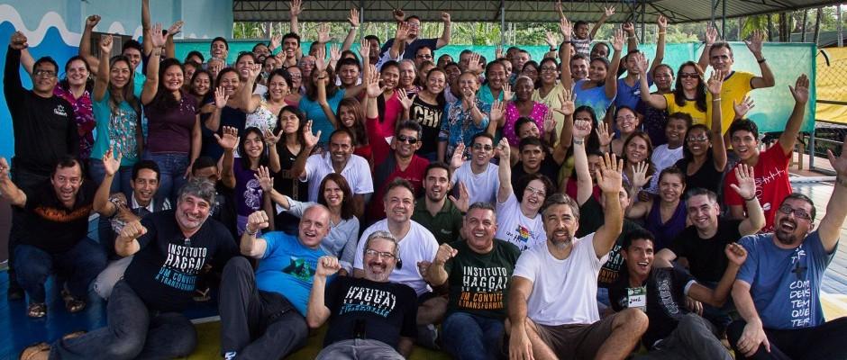 Participantes e equipe da Jornada de Estudos Haggai em Afuá