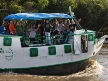 Equipe chegando ao Afuá