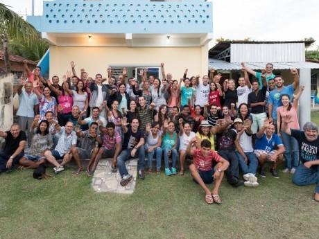 Participantes em Ilha Grande, BA