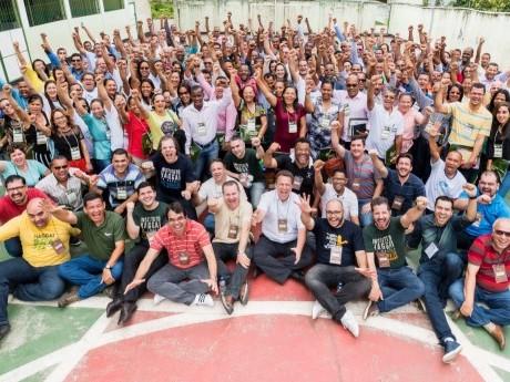 Participantes em Camamu, BA