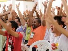 Alegria dos participantes ao final dos três dias de curso