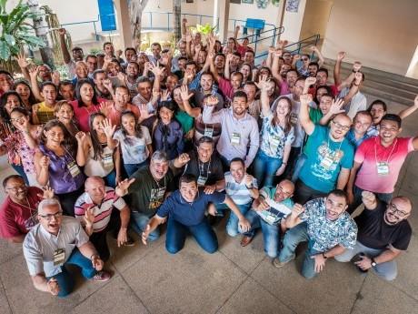 Participantes da Jornada de Estudos Haggai em São Raimundo Nonato