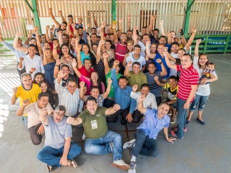 Participantes da Jornada de Estudos Haggai em Bailique