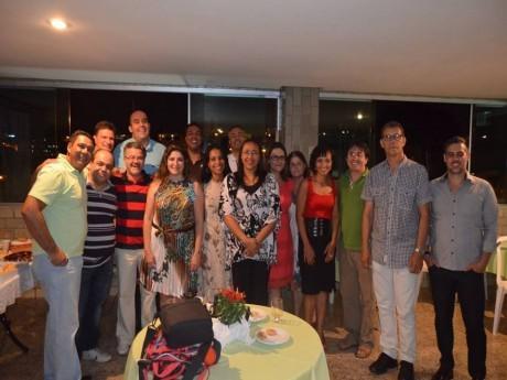Foto oficial dos graduados presentes à reunião