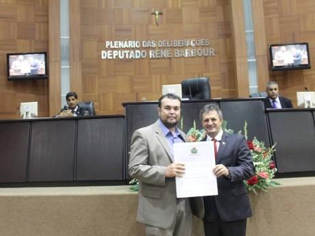 Eduardo Baldaci na Assembléia Legislativa de Mato Grosso