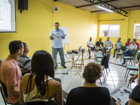 Participantes em um Seminário Local em Campinas