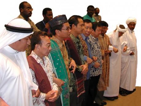 Participantes de várias nações no Seminário Internacional