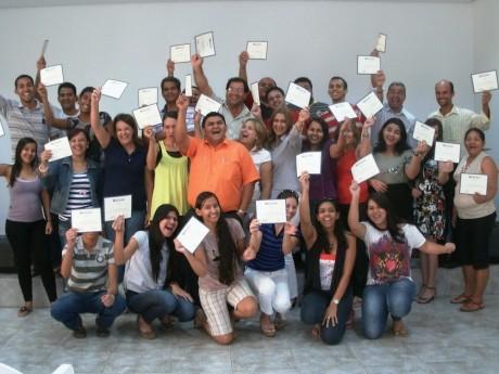 Participantes em um Seminário Local em Cuiabá