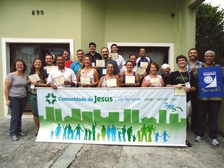 Foto oficial do LOC da Igreja Evangélica Comunidade de Jesus