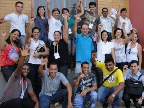 Participantes em um Seminário Local em Ji-Paraná