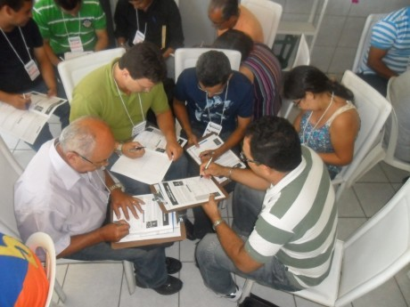 Participantes de um Seminário Local em Natal