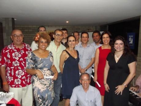 Foto oficial do grupo de participantes