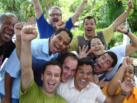 Graduados do Seminário Nacional 2004 em Cuiabá