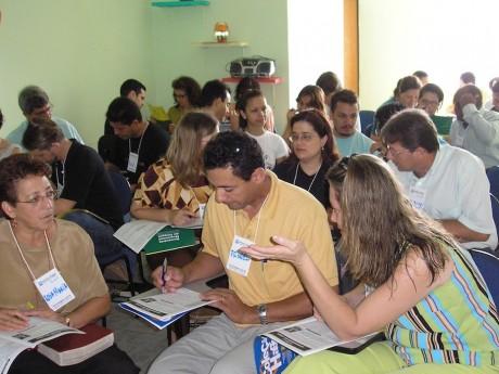 Participantes em um Seminário Local em Santa Bárbara D'Oeste